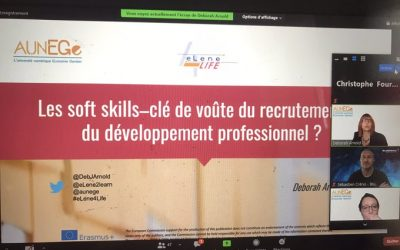 French Multiplier Event – Soft skills: the keystone to recruitment and professional development?